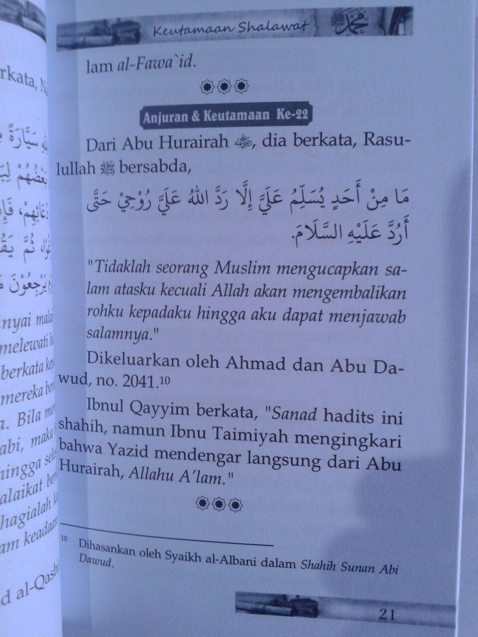 Buku 40 Keajaiban Shalawat Kunci Rahasia Shalawat Nabi isi