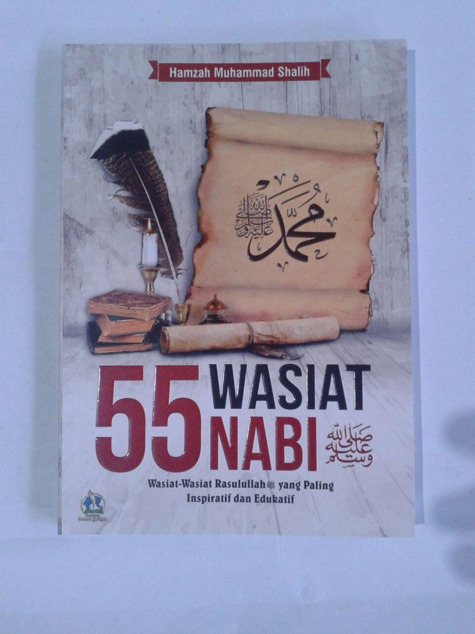 Buku 55 Wasiat Nabi Yang Paling Inspiratif Dan Edukatif cover 2
