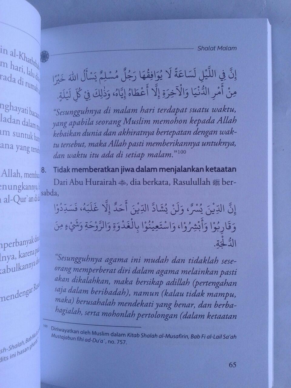 Buku Air Mata Di Ujung Malam Potret Ibadah Nabi Dan Para Salaf isi 3