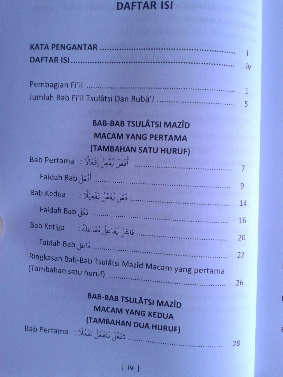 Buku Belajar Tashrif Sistem 40 Jam isi 3