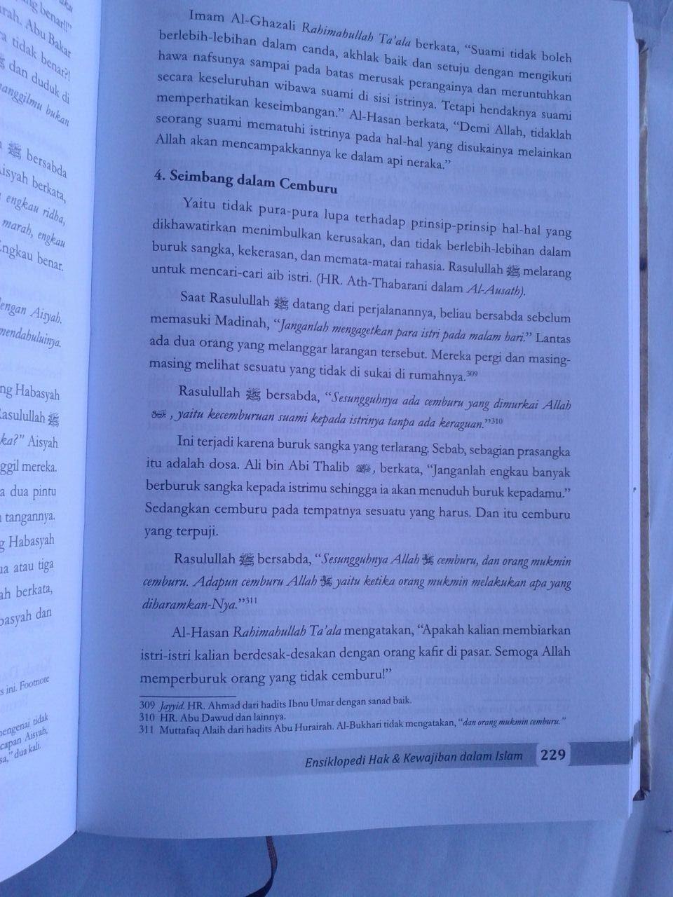 Buku Ensiklopedi Hak Dan Kewajiban Dalam Islam isi 2