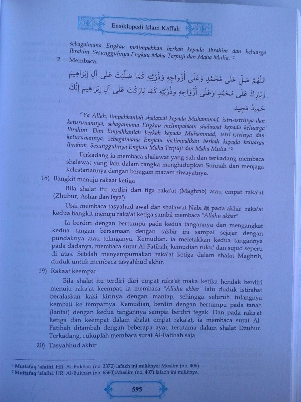 Buku Ensiklopedi Islam Kaffah Edisi Terlengkap isi 2