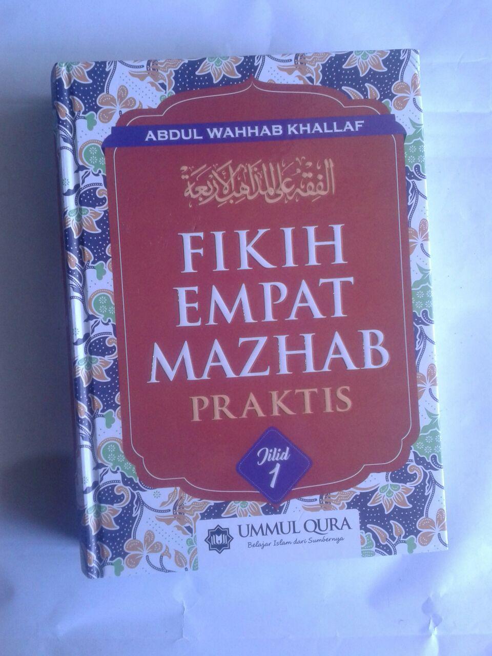 Buku Fikih Empat Madzhab Praktis 1 Set 2 Jilid cover 3