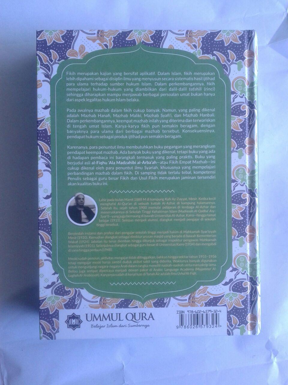 Buku Fikih Empat Madzhab Praktis 1 Set 2 Jilid cover 4