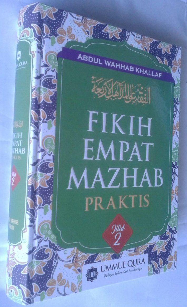 Buku Fikih Empat Madzhab Praktis 1 Set 2 Jilid cover