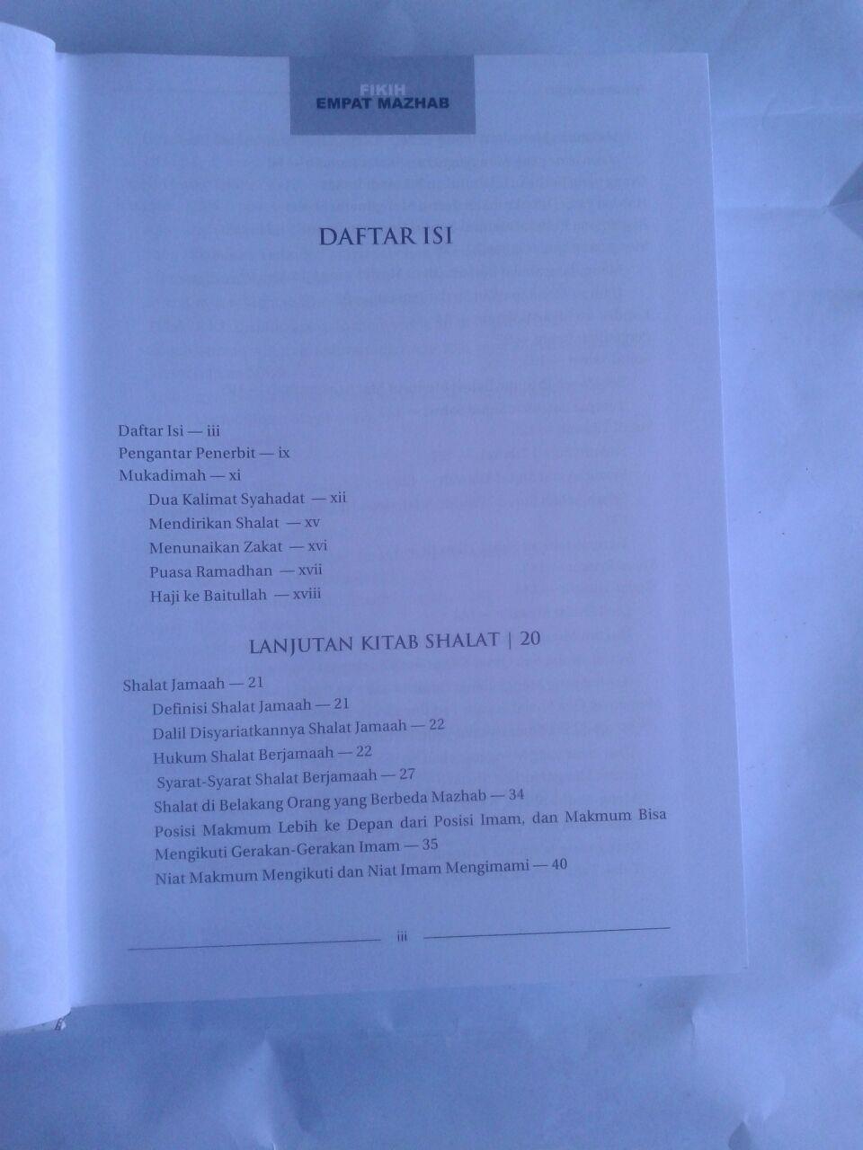 Buku Fikih Empat Madzhab Praktis 1 Set 2 Jilid isi 2