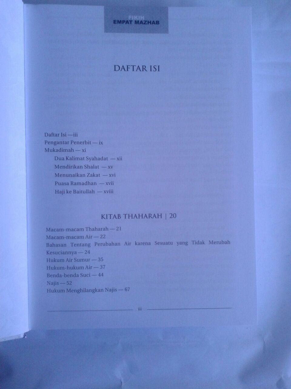 Buku Fikih Empat Madzhab Praktis 1 Set 2 Jilid isi 4