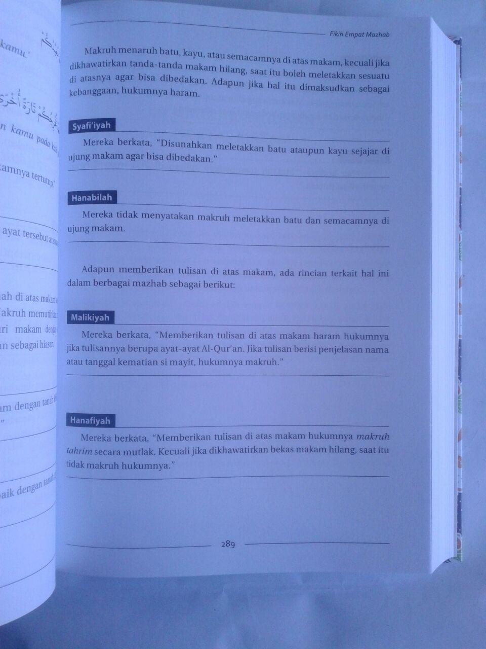 Buku Fikih Empat Madzhab Praktis 1 Set 2 Jilid isi 5