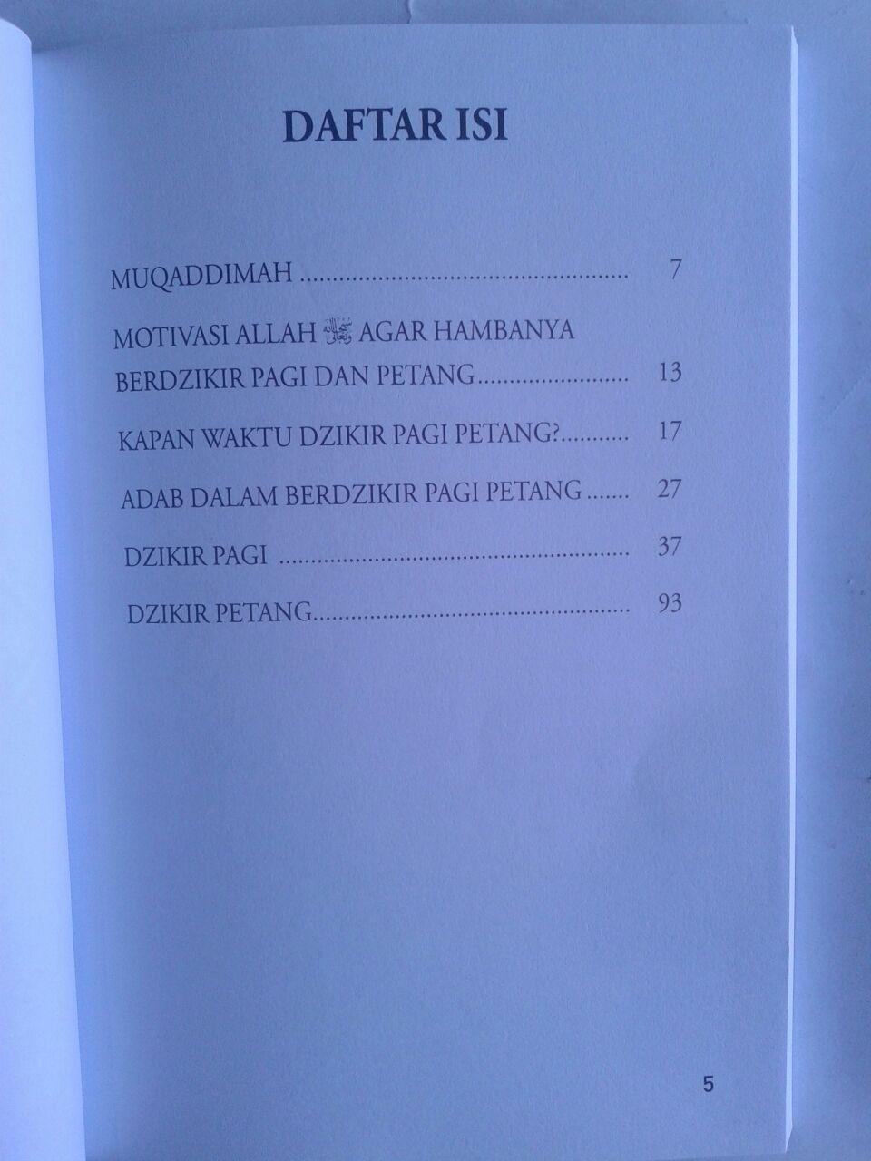 Buku Fiqih Dzikir Pagi Petang isi 2