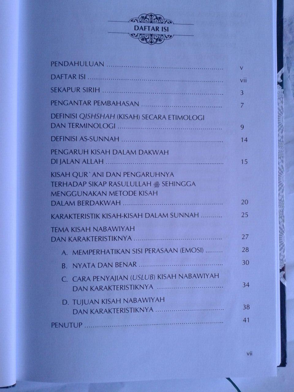 Buku Kisah-Kisah Shahih Dalam Sunnah Nabi isi 2