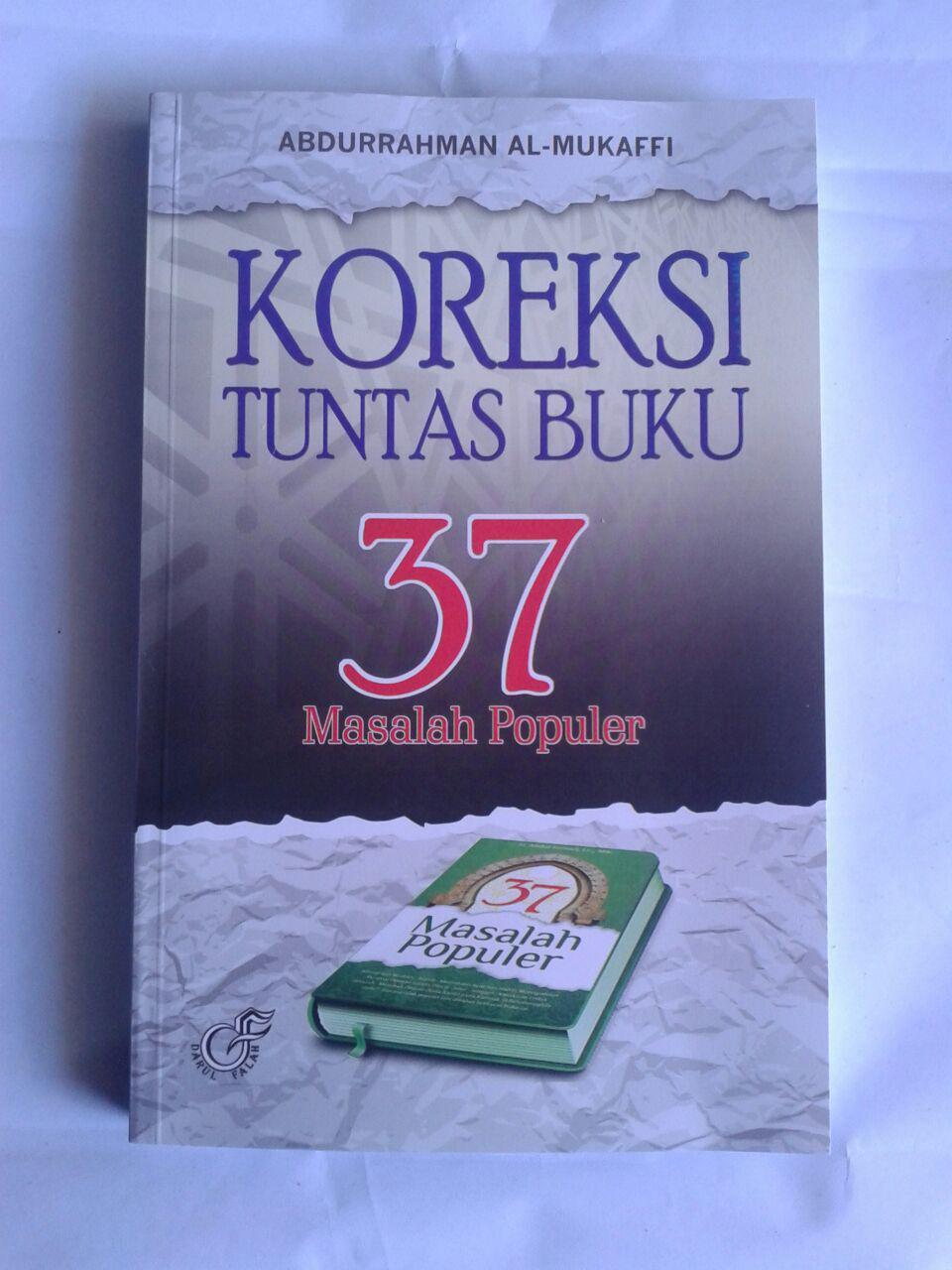 Buku Koreksi Tuntas Buku 37 Masalah Populer cover 2