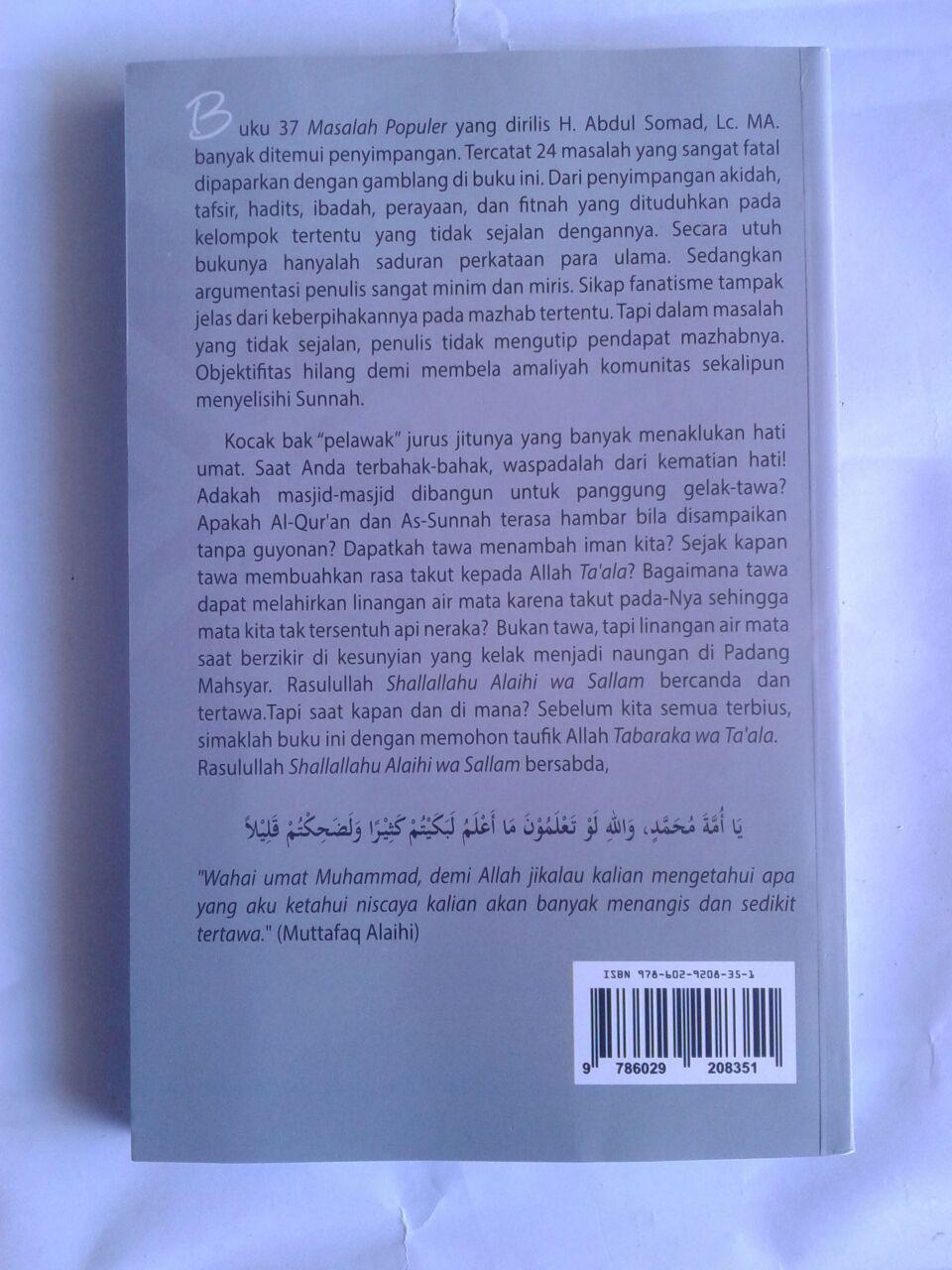Buku Koreksi Tuntas Buku 37 Masalah Populer cover