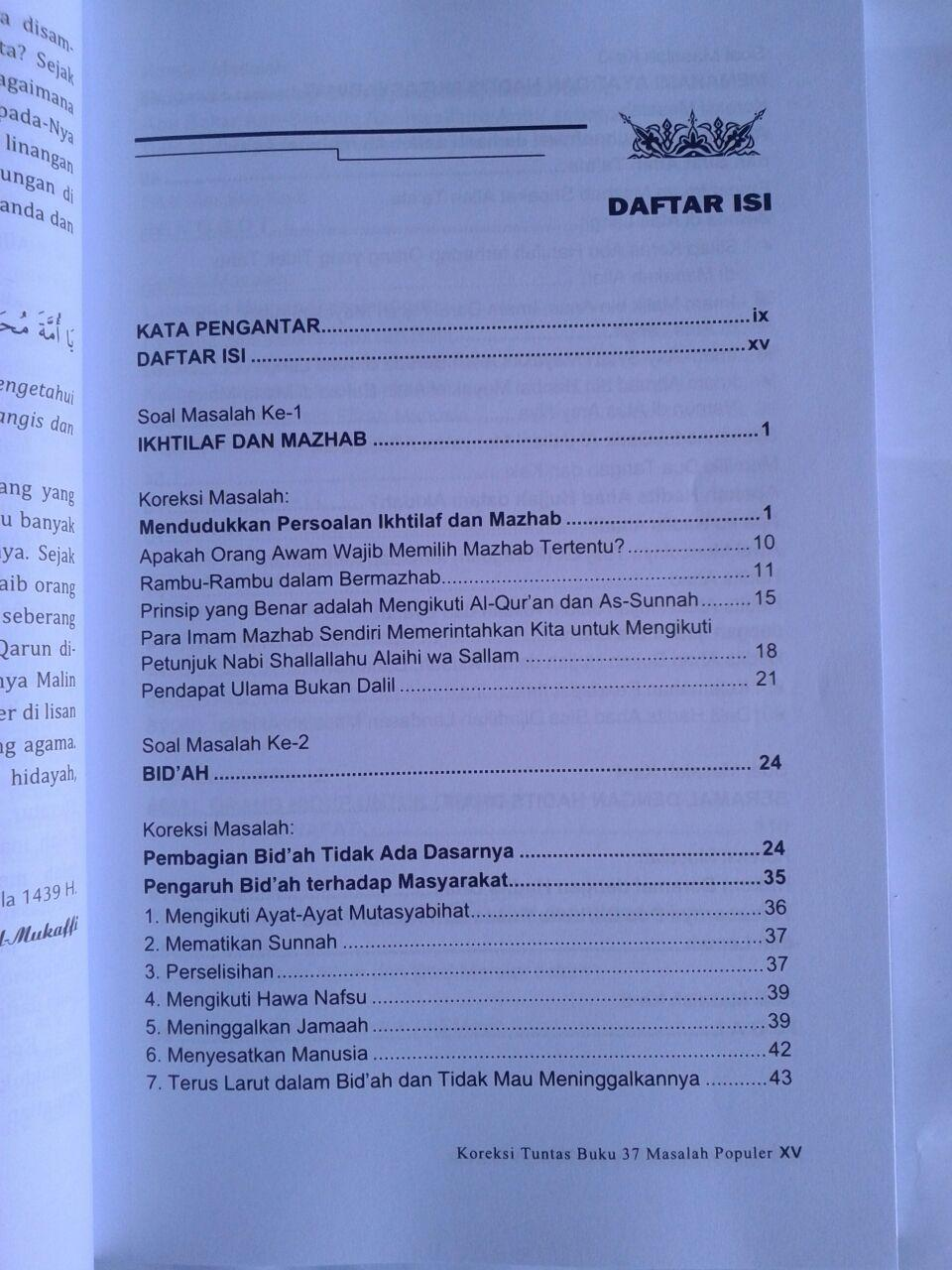 Buku Koreksi Tuntas Buku 37 Masalah Populer isi 2