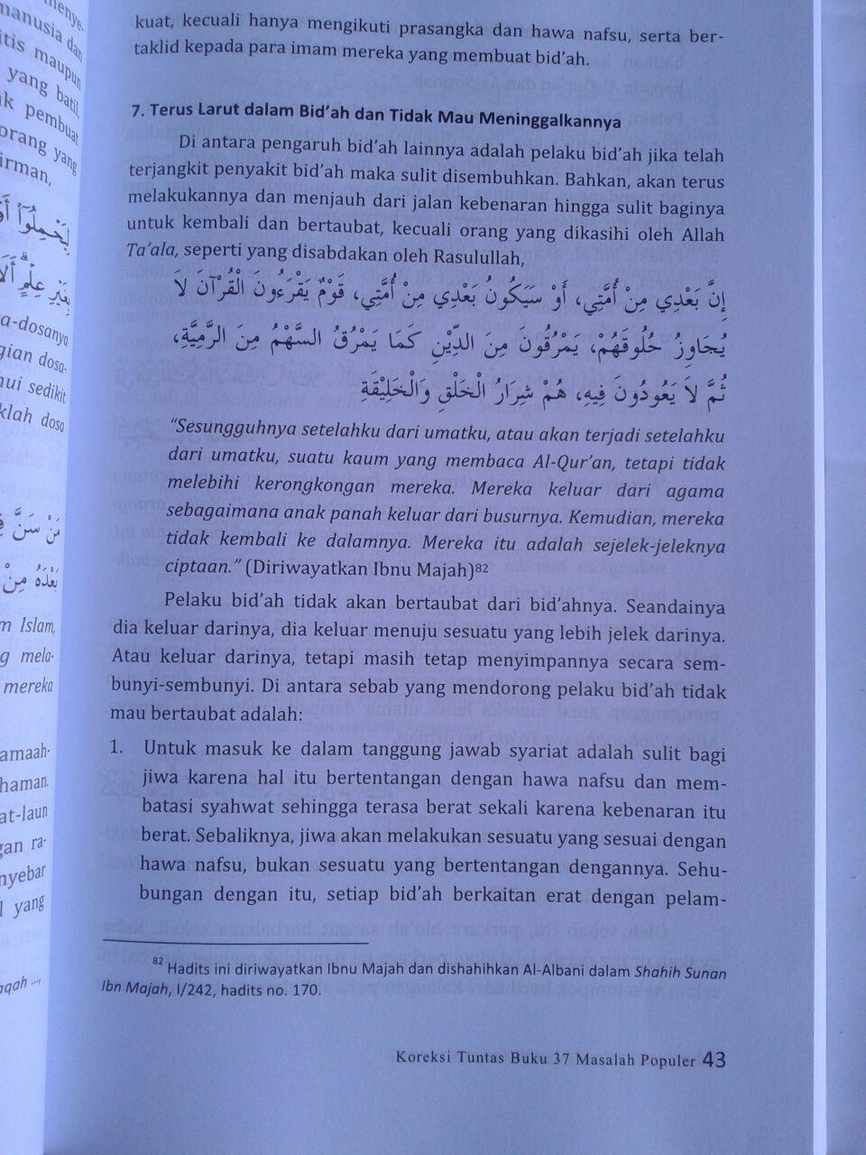 Buku Koreksi Tuntas Buku 37 Masalah Populer isi 4
