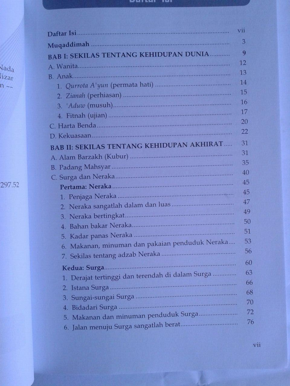 Buku Manisnya Dunia Pahitnya Neraka isi 2