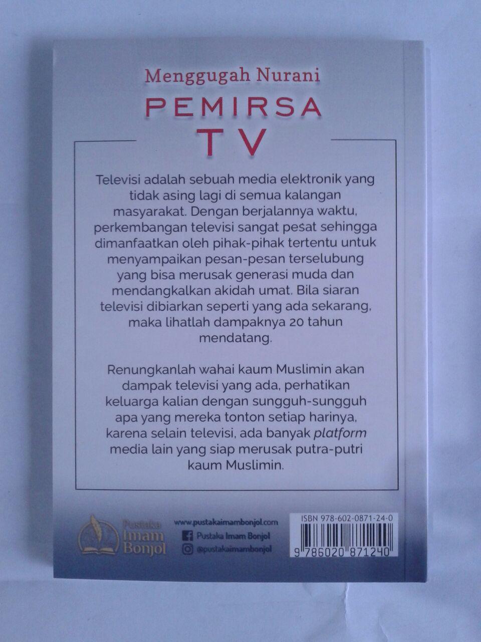 Buku Menggugah Nurani Pemirsa TV cover