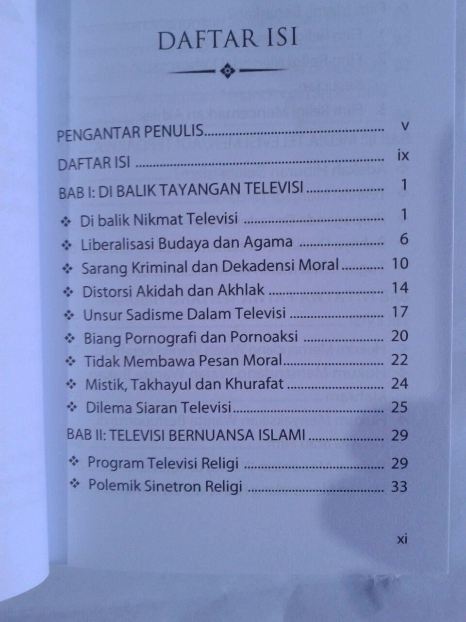 Buku Menggugah Nurani Pemirsa TV isi