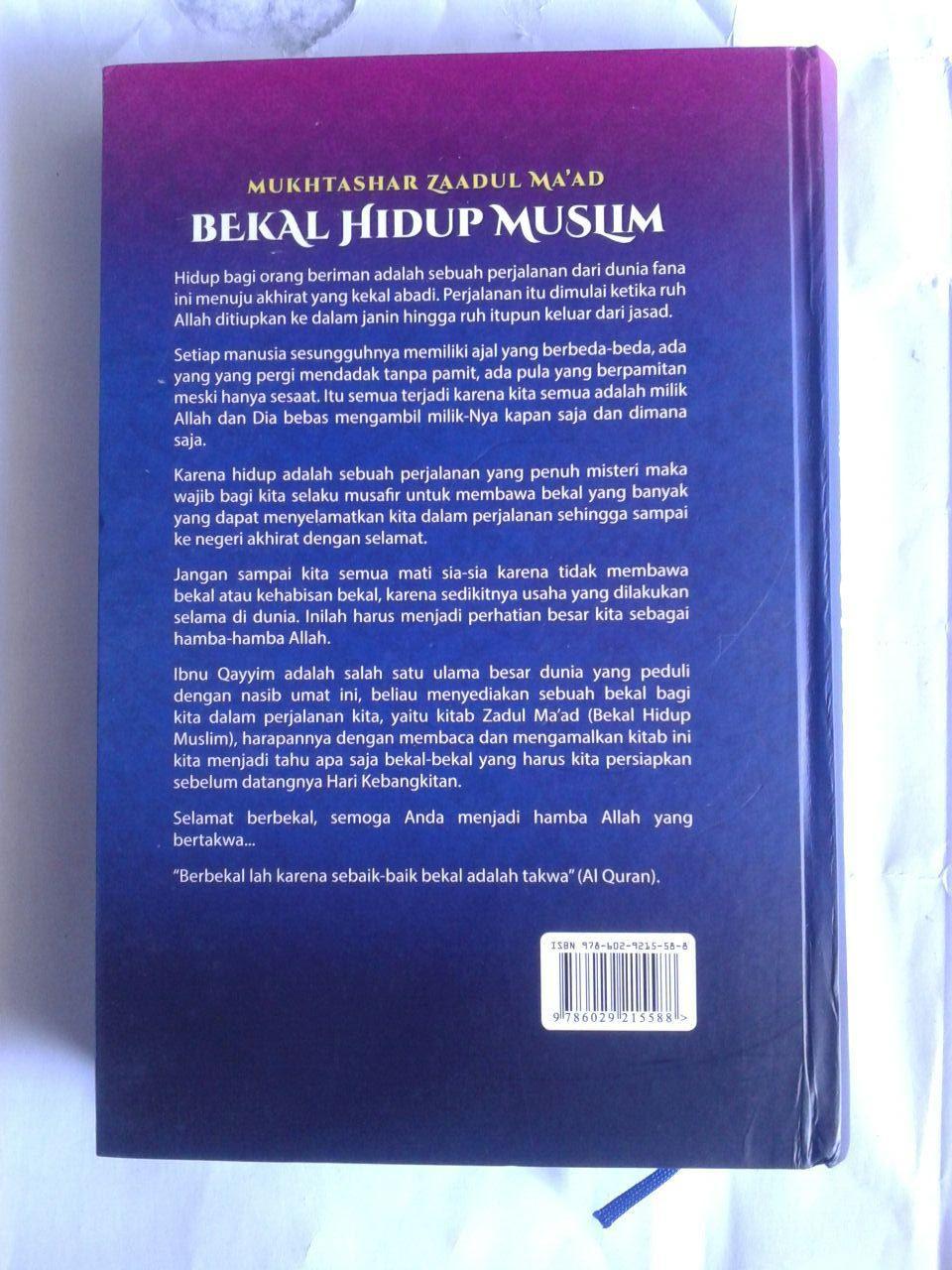 Buku Mukhtashar Zaadul Maad Bekal Hidup Muslim cover 3