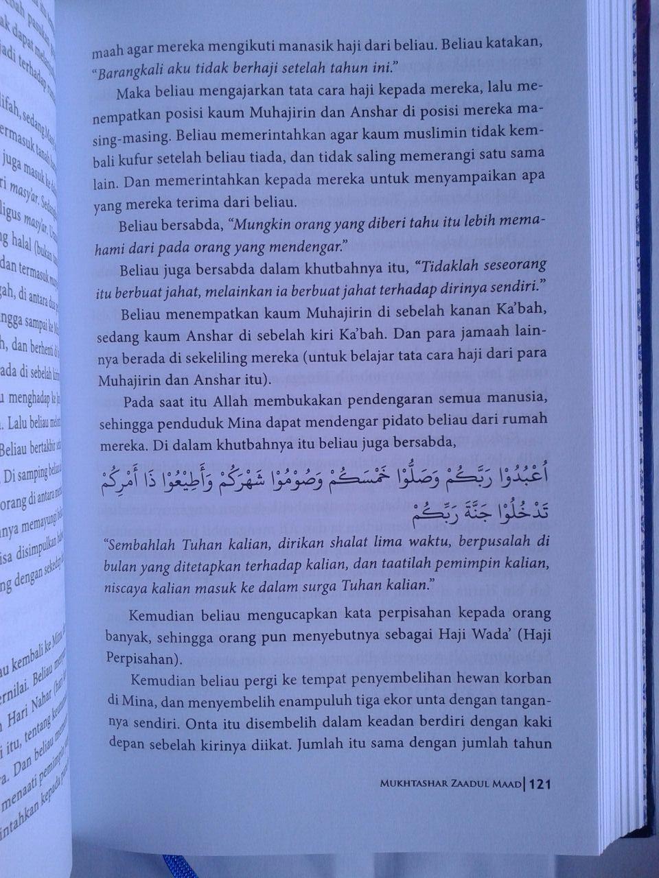 Buku Mukhtashar Zaadul Maad Bekal Hidup Muslim isi 2