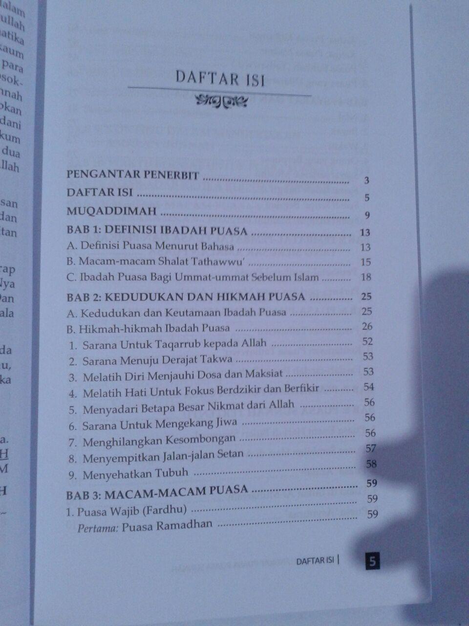 Buku Panduan Lengkap Puasa-Puasa Sunnah Sepanjang Tahun isi 2