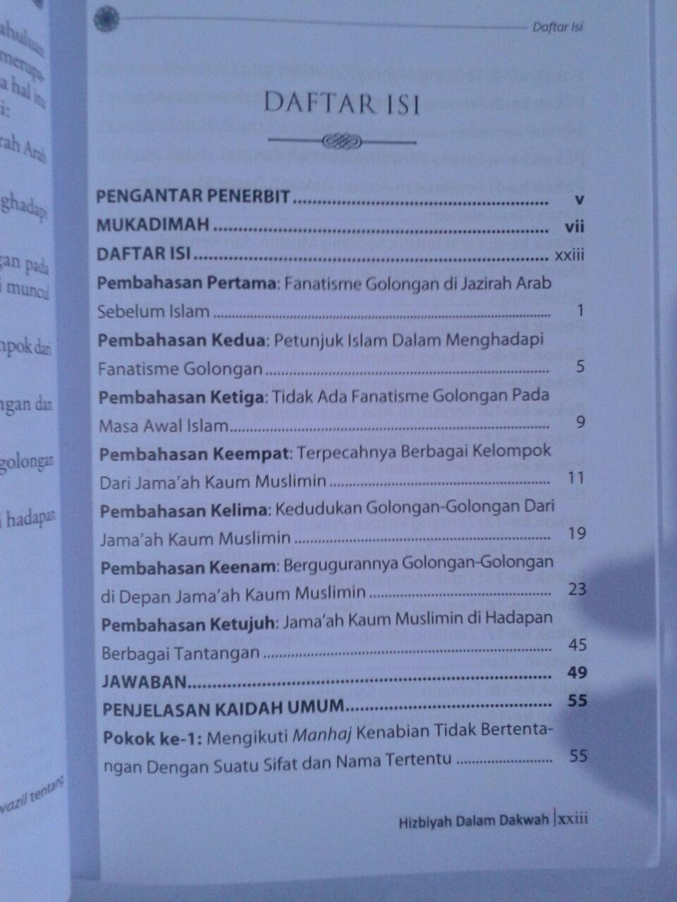 Buku Perlukan Hizbiyah Dalam Dakwah isi 3