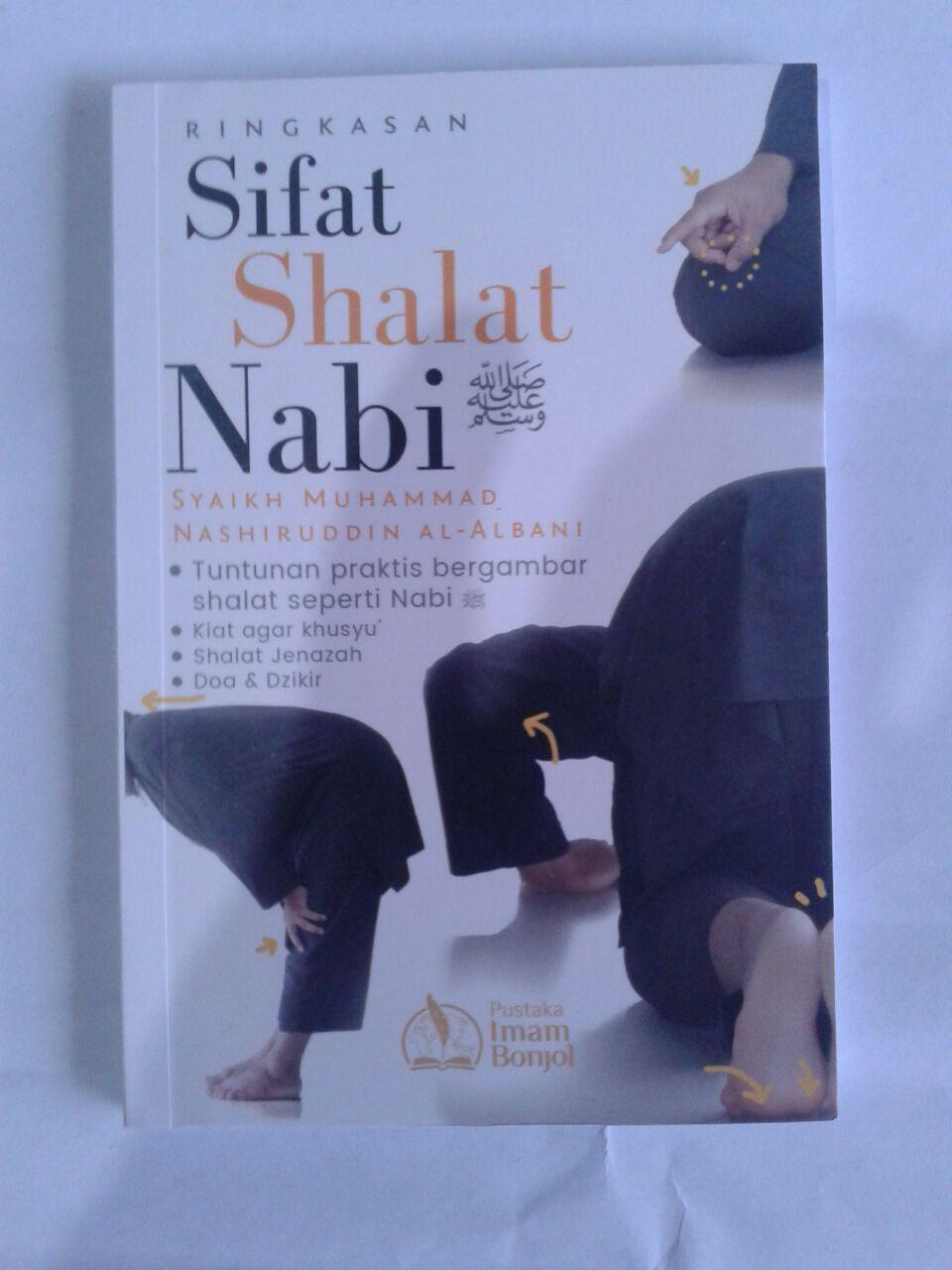 Buku Ringkasan Sifat Shalat Nabi Syaikh Al-Albani cover 2