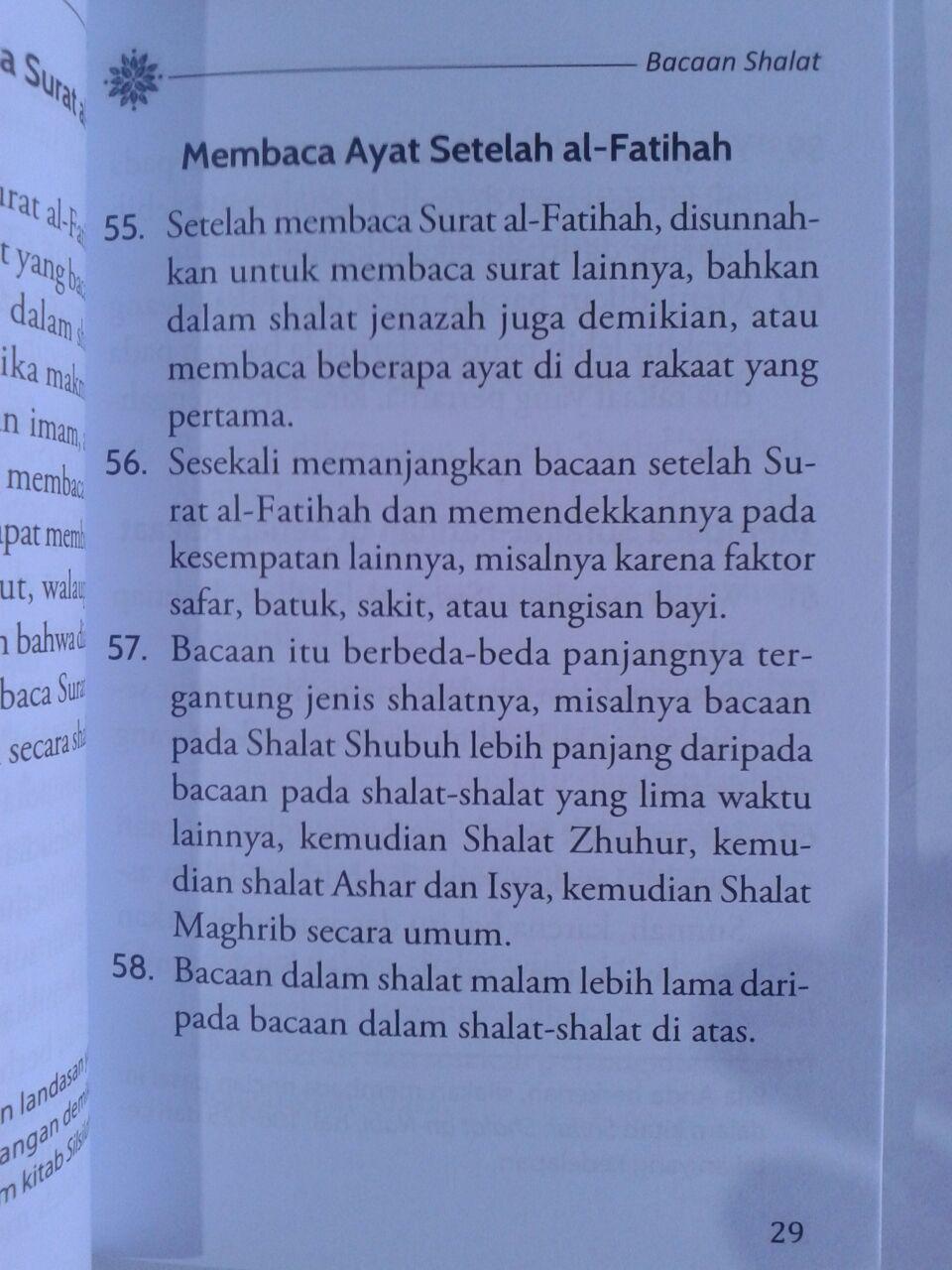 Buku Ringkasan Sifat Shalat Nabi Syaikh Al-Albani isi