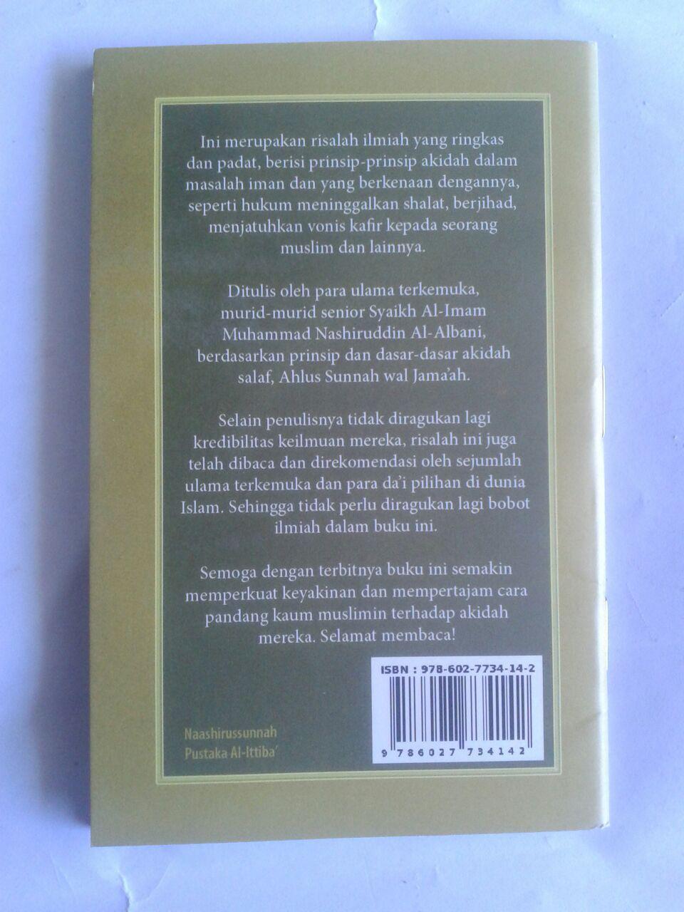 Buku Saku Konsep Iman Menurut Ahlus Sunnah Wal Jama'ah cover 2