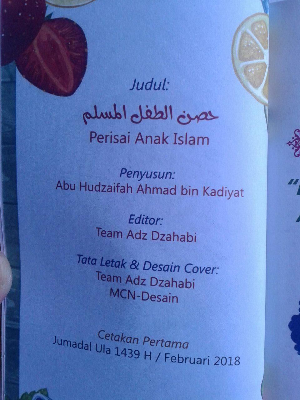 Buku Saku Perisai Anak Islam isi 3