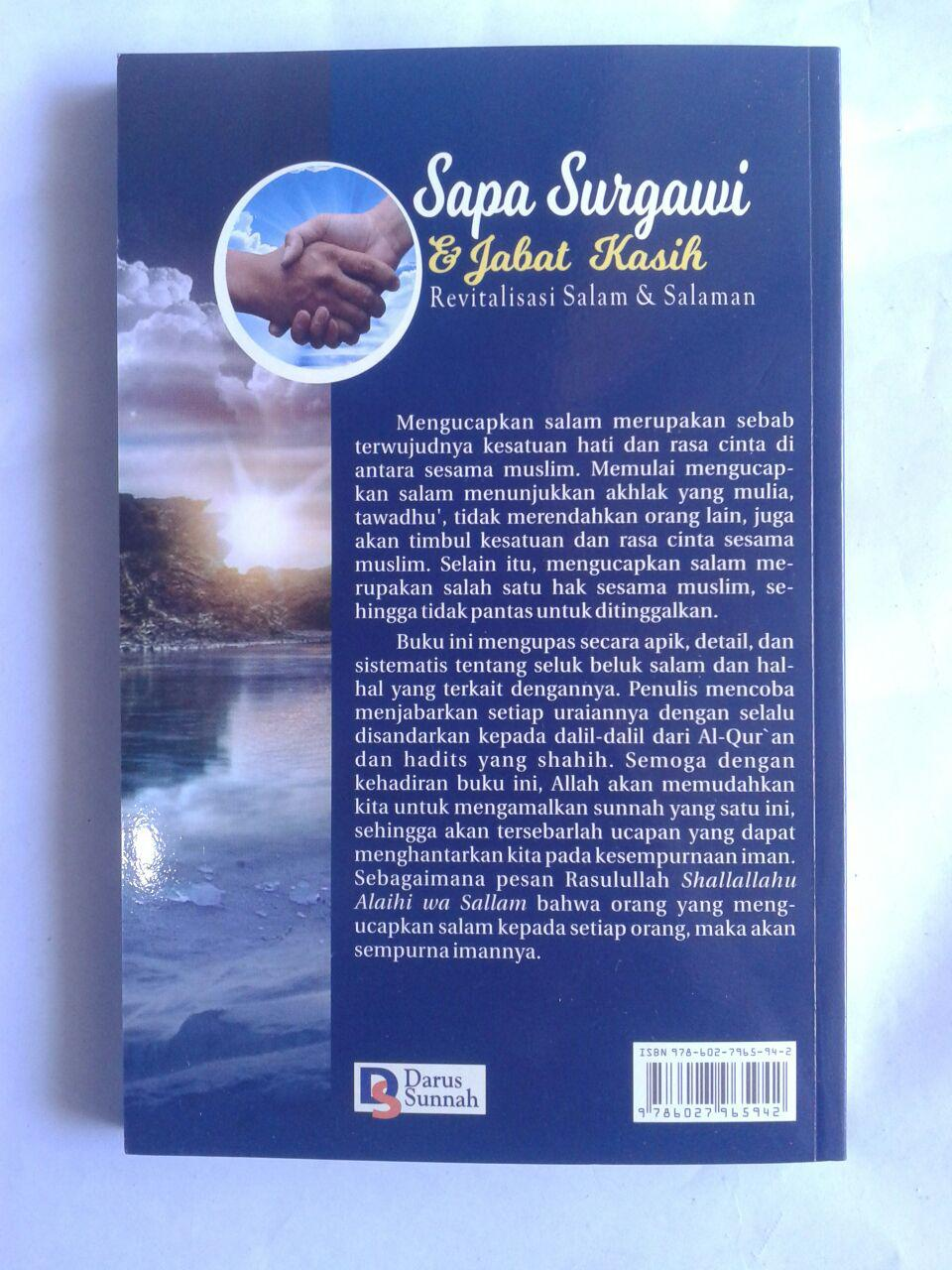 Buku Sapa Surgawi Dan Jabat Kasih Revitalisasi Salam cover 2