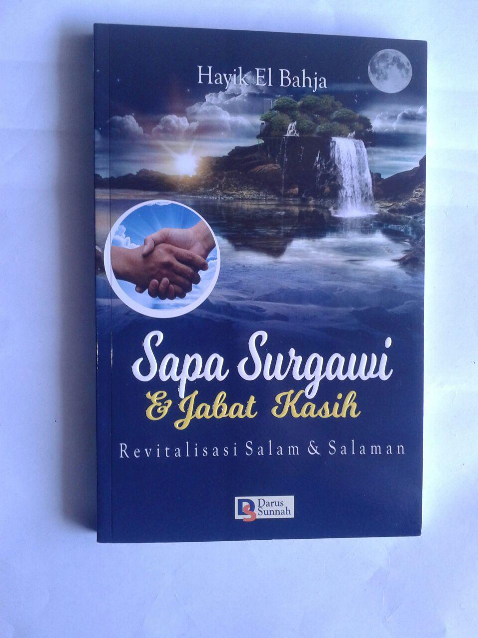 Buku Sapa Surgawi Dan Jabat Kasih Revitalisasi Salam cover