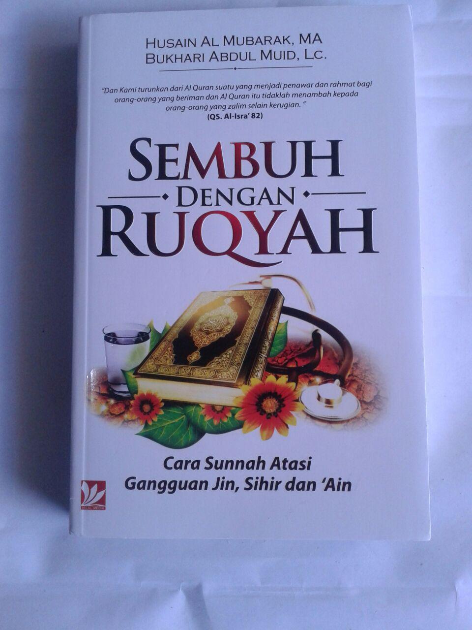 Buku Sembuh Dengan Ruqyah Cara Sunnah Atasi Gangguan Jin cover 2
