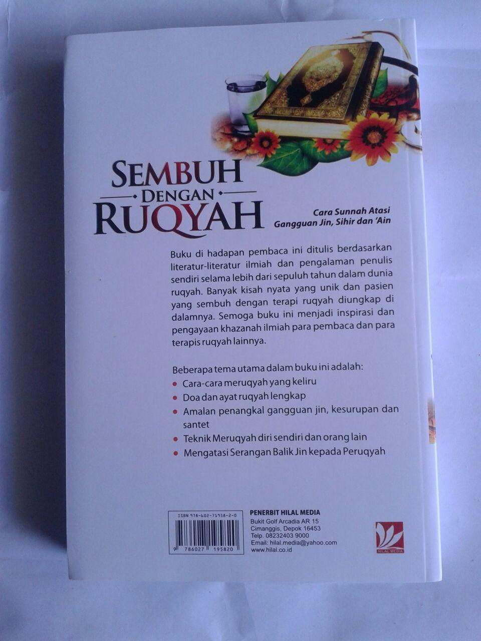 Buku Sembuh Dengan Ruqyah Cara Sunnah Atasi Gangguan Jin cover