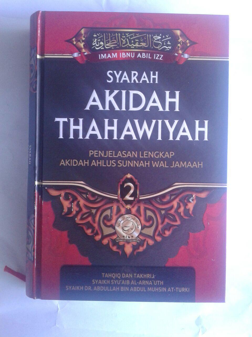 Buku Syarah Akidah Thahawiyah Akidah Ahlussunnah cover 3
