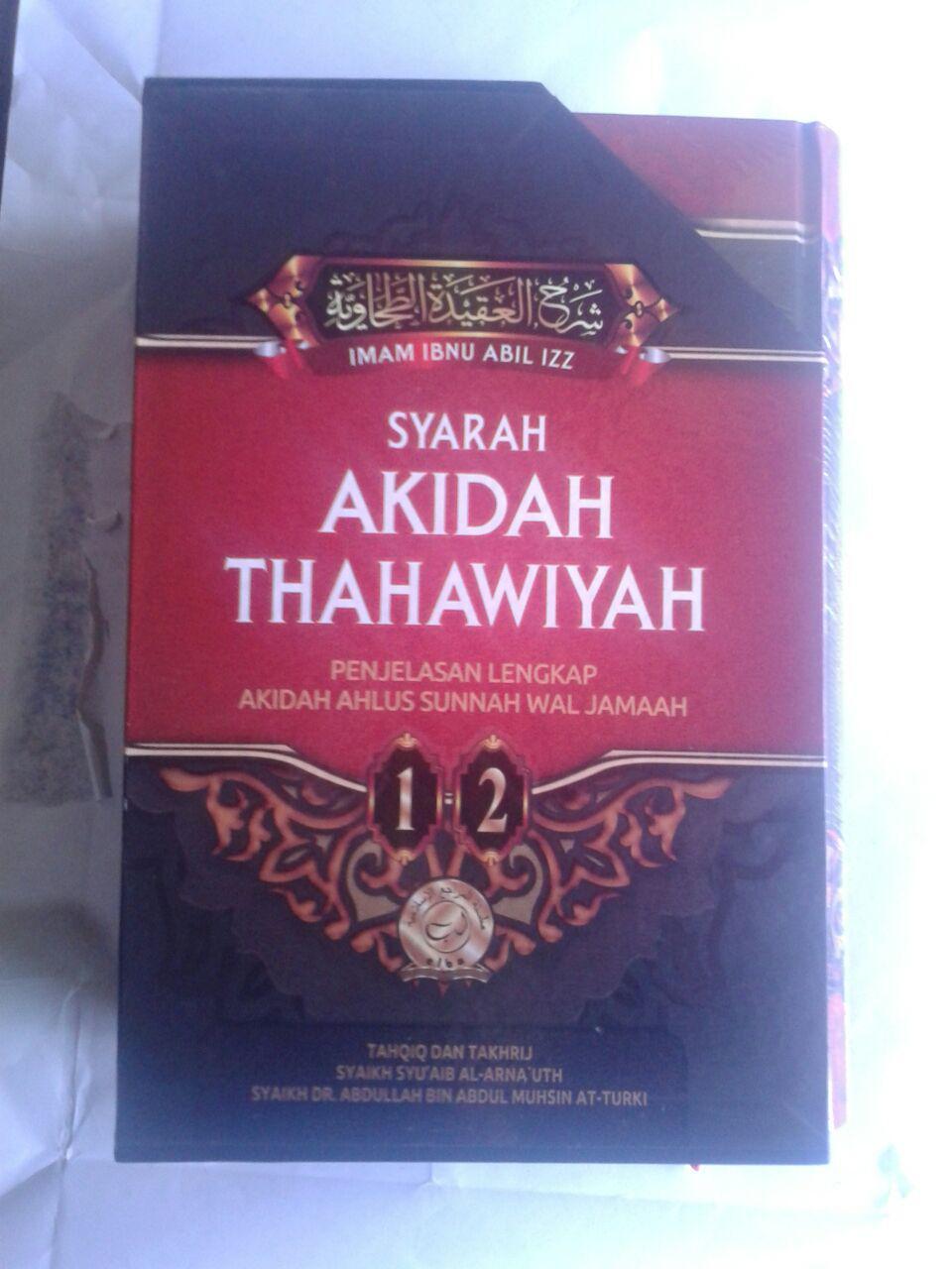 Buku Syarah Akidah Thahawiyah Akidah Ahlussunnah cover 4