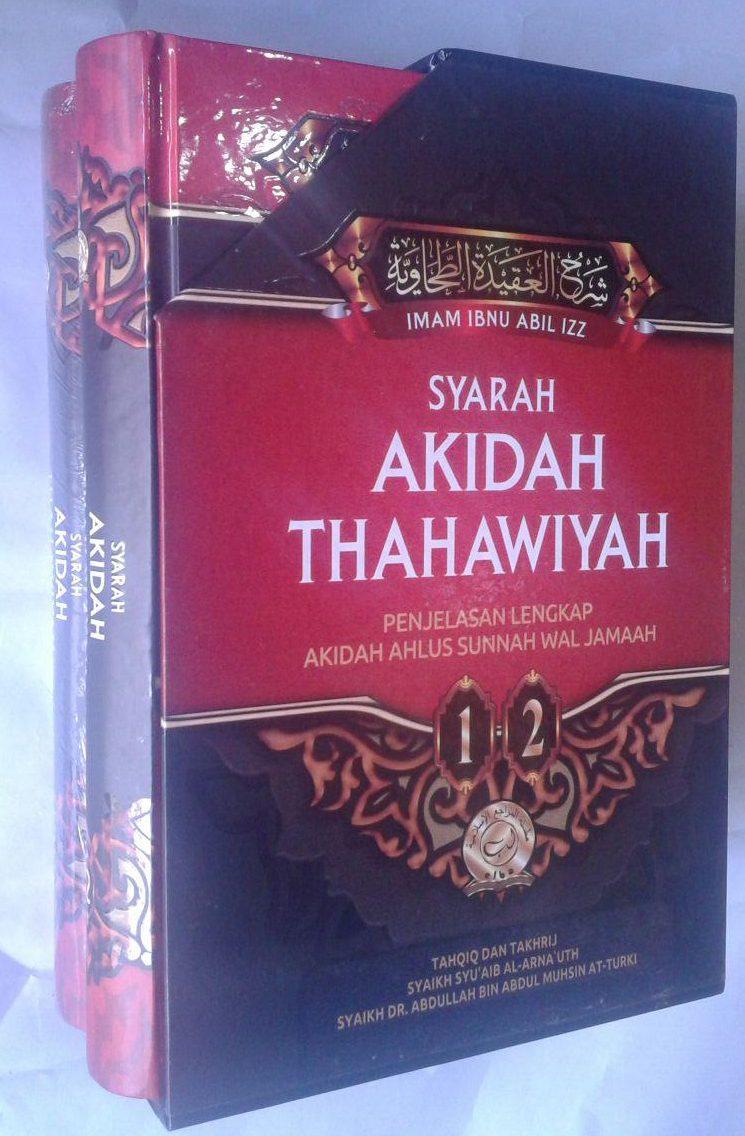 Buku Syarah Akidah Thahawiyah Akidah Ahlussunnah cover 6