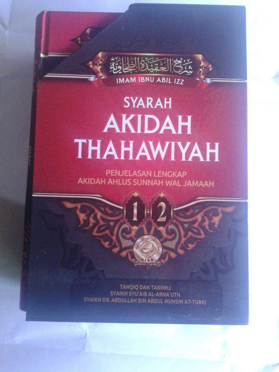 Buku Syarah Akidah Thahawiyah Akidah Ahlussunnah cover