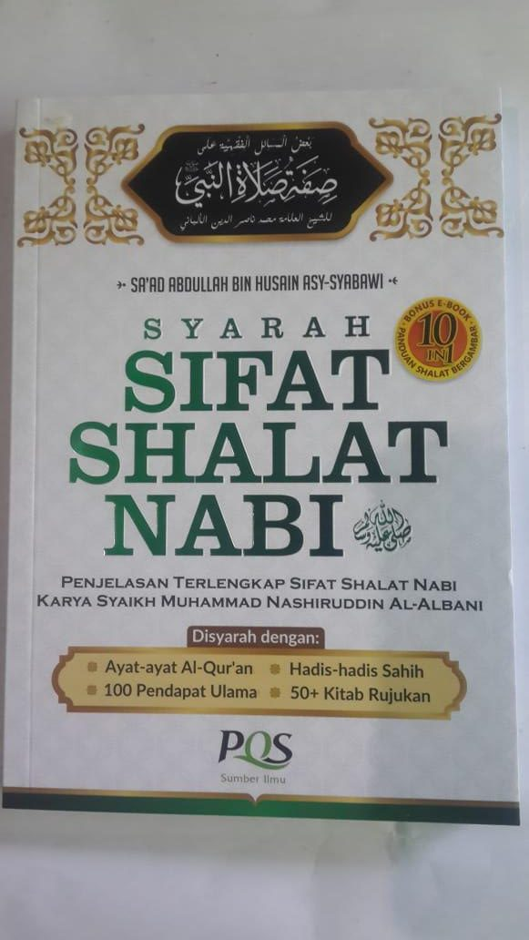 Buku Syarah Sifat Shalat Nabi Penjelasan Terlengkap cover 2