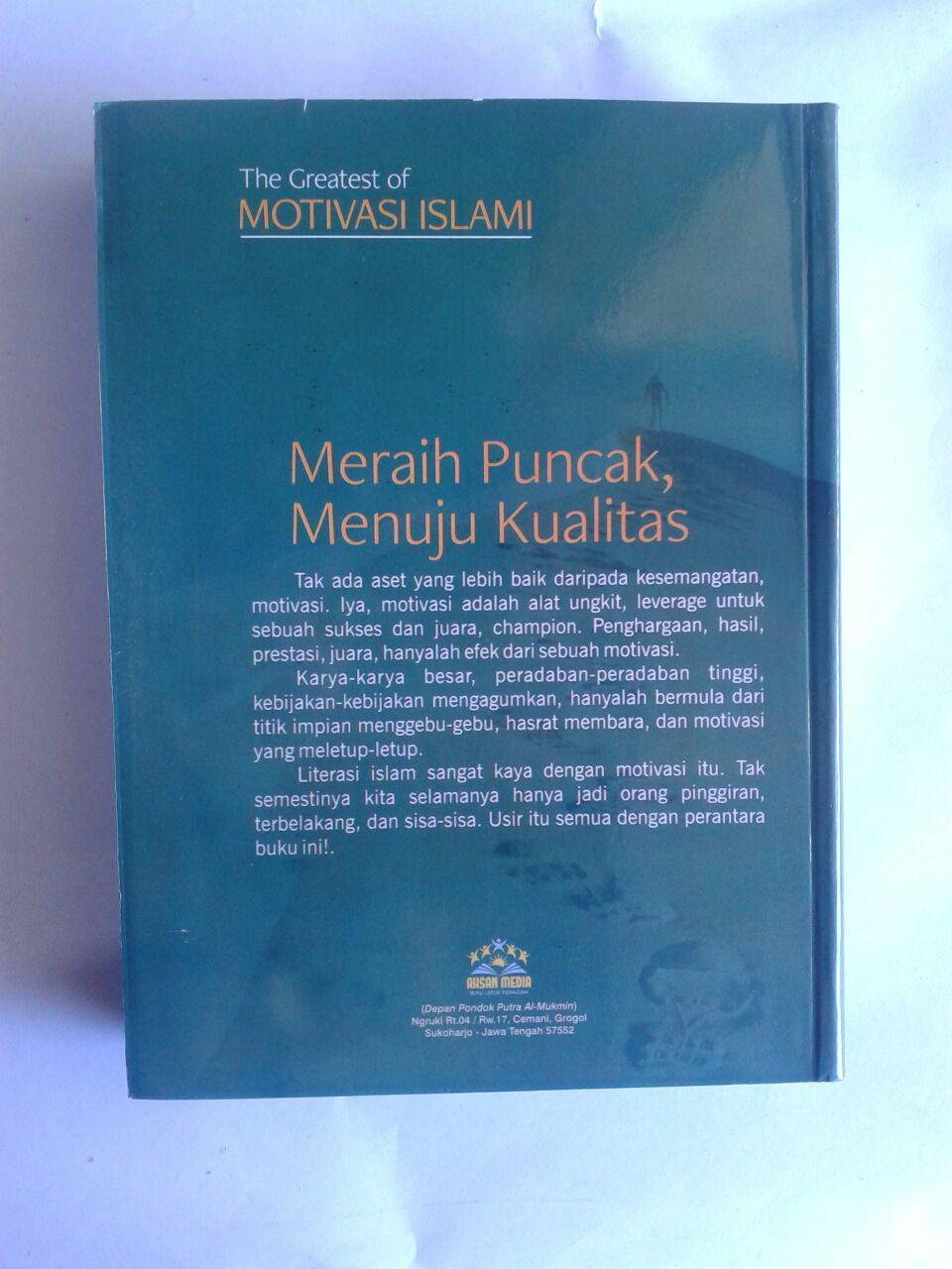 Buku The Greatest Of Motivasi Islam Pikiran Dan Mental Blok cover 2