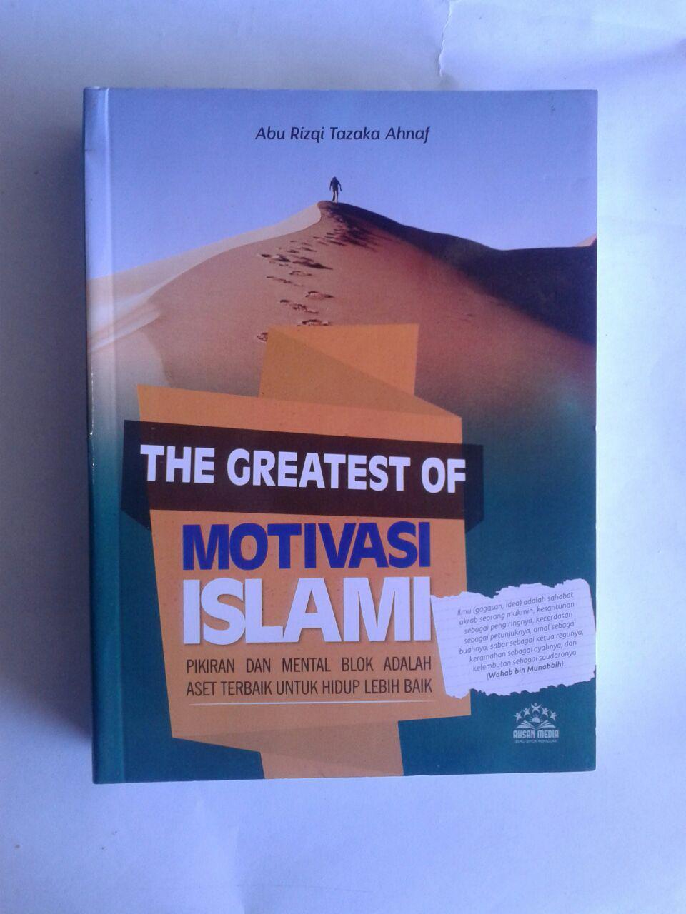 Buku The Greatest Of Motivasi Islam Pikiran Dan Mental Blok cover 3