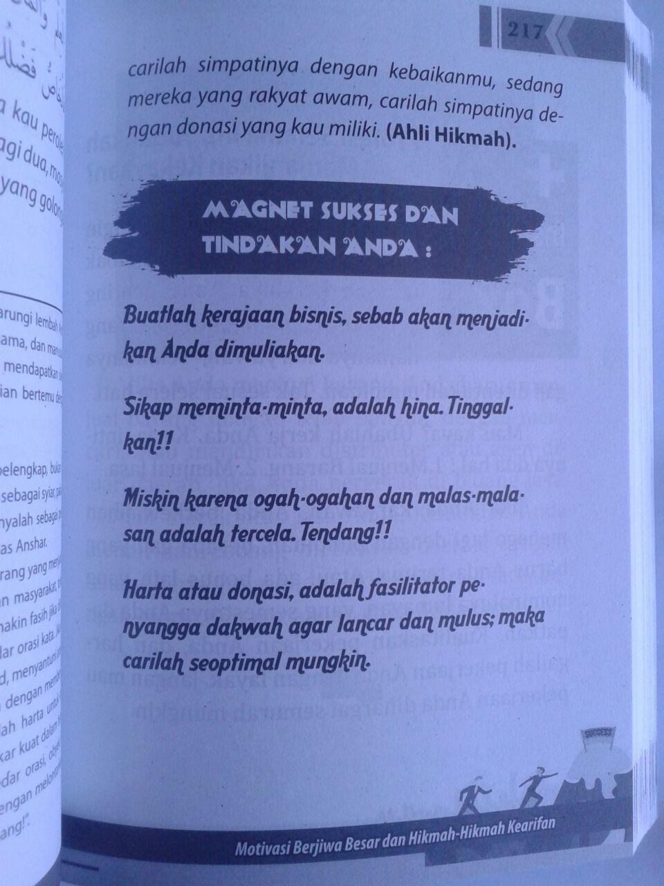 Buku The Greatest Of Motivasi Islam Pikiran Dan Mental Blok isi 4