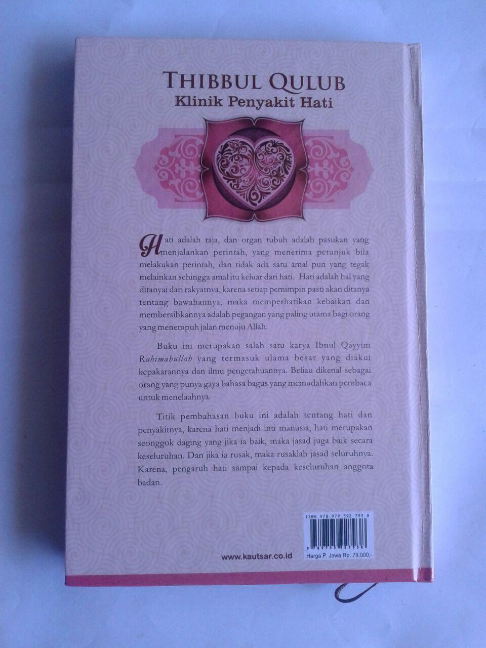 Buku Thibbul Qulub Klinik Penyakit Hati cover