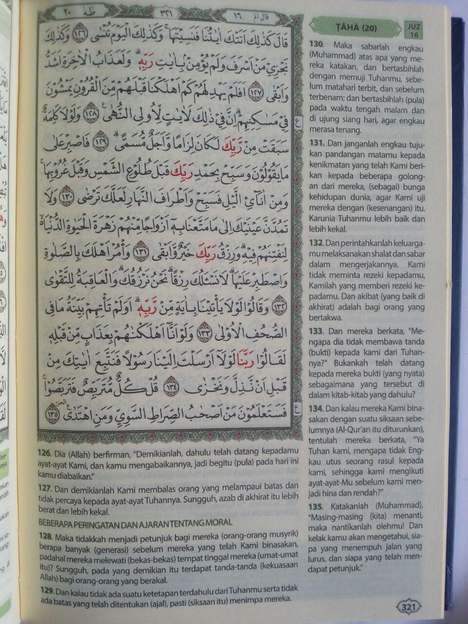 Al-Qur'an Mushaf Dan Terjemah Ukuran A5 isi 2