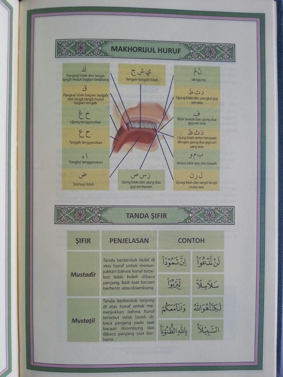 Al-Qur'an Mushaf Tanpa Terjemah Ukuran A5 isi