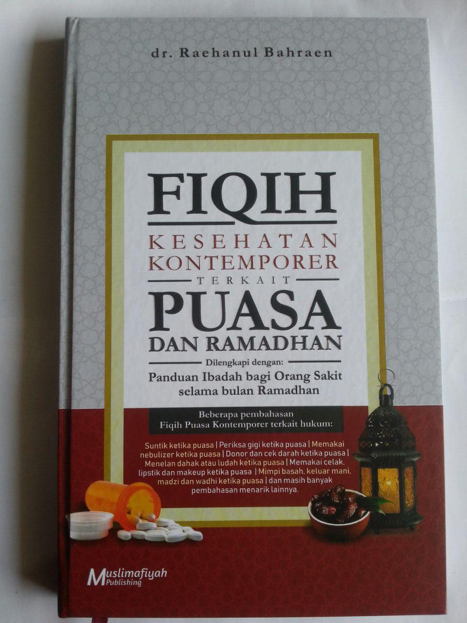 Buku Fiqih Kesehatan Kontemporer Terkait Puasa Dan Ramadhan cover 2