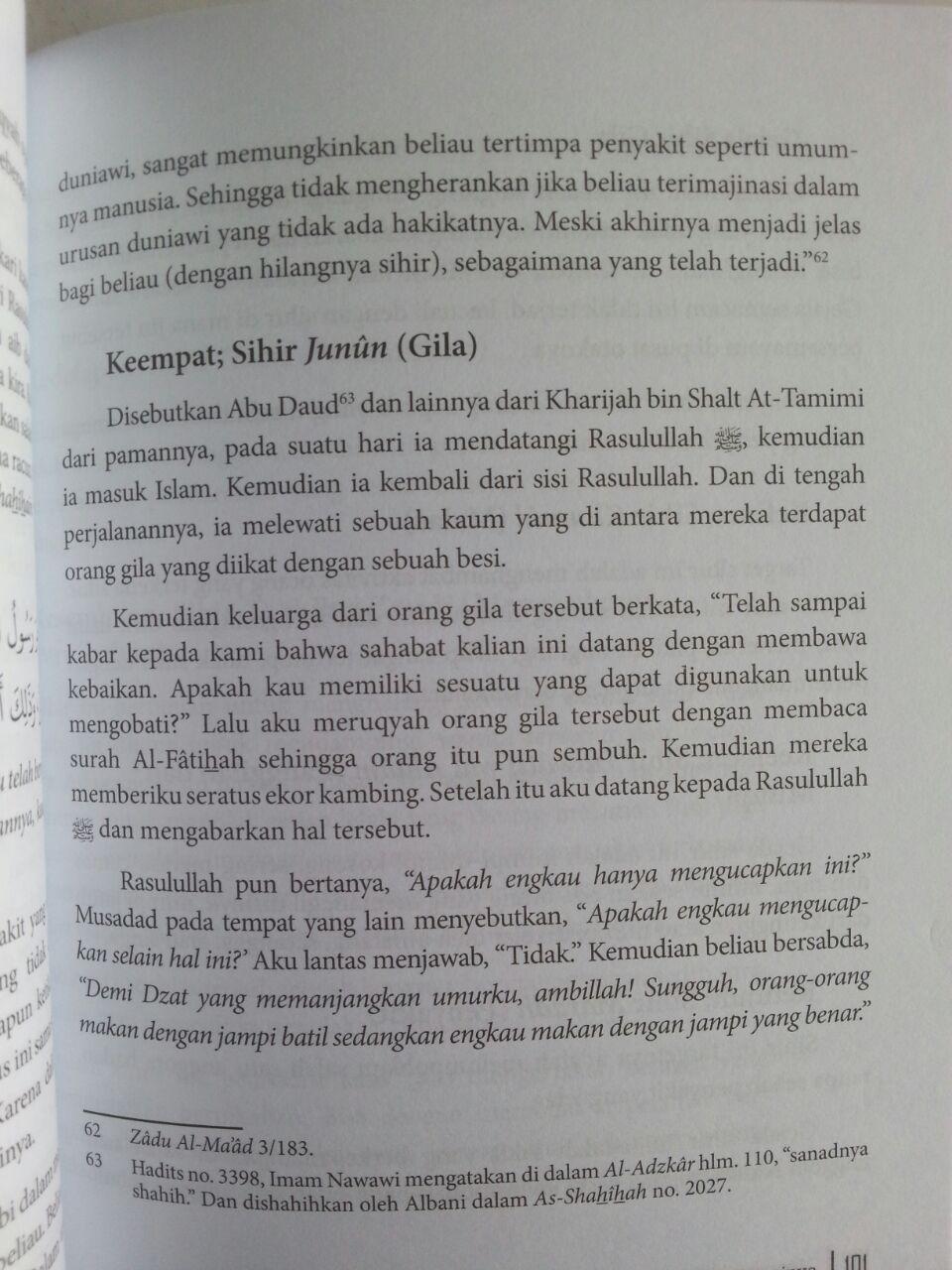 Buku Mengatasi Sihir Dan Kesurupan Sesuai Al-Quran Sunnah isi 3