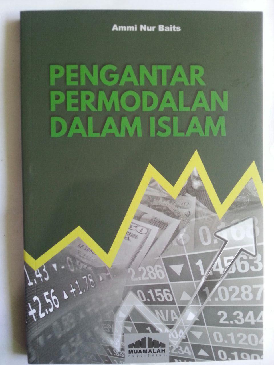 Buku Pengantar Permodalan Dalam Islam cover