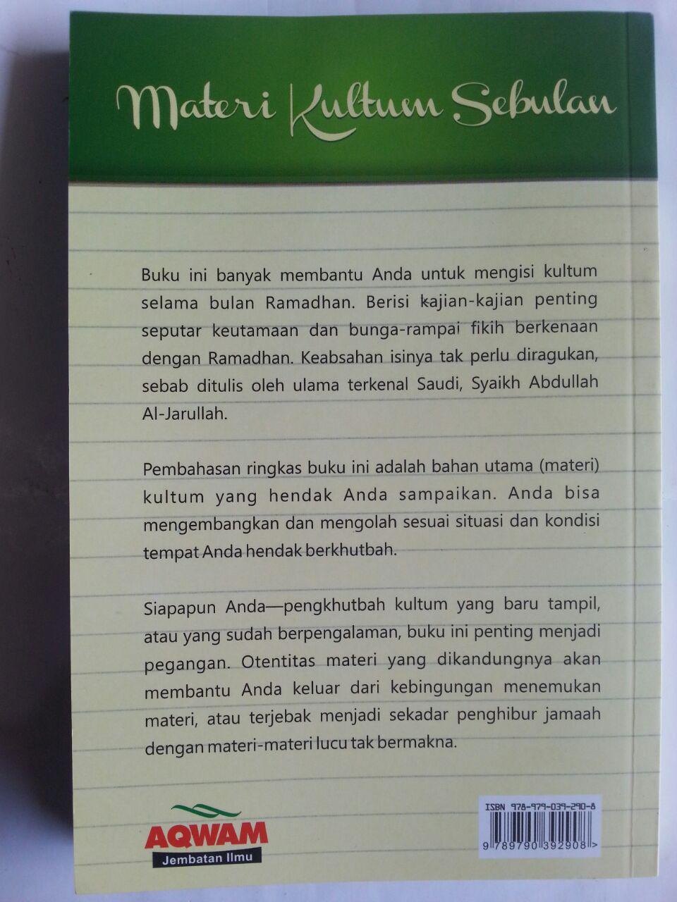 Buku Risalah Ramadhan Materi Kultum Sebulan cover