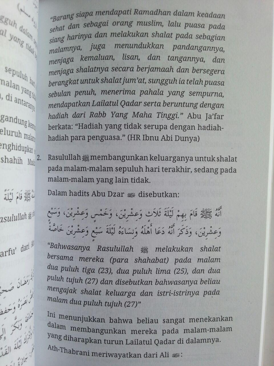 Buku Risalah Ramadhan Materi Kultum Sebulan isi 3