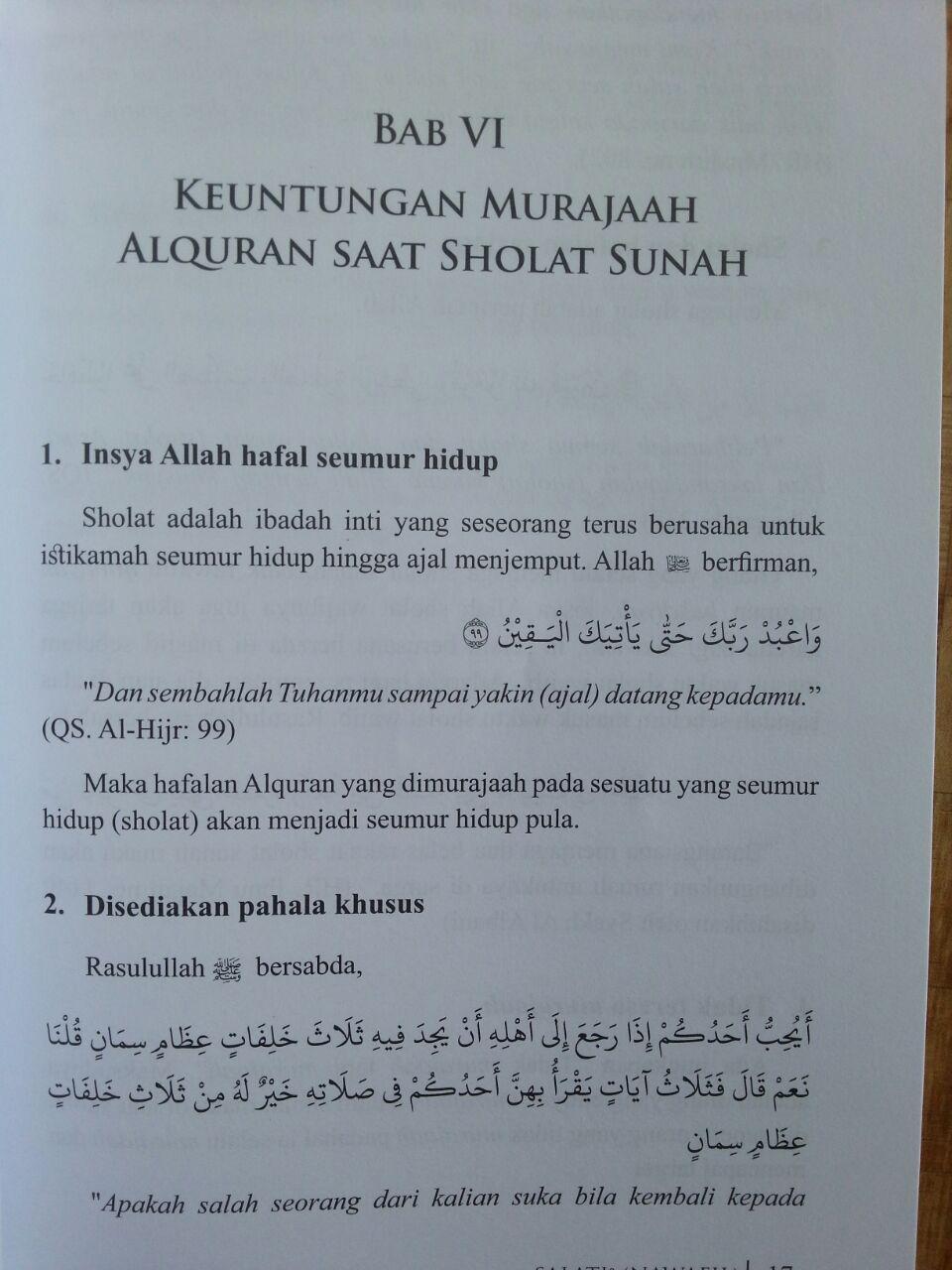 Buku Sholati Ila Mamati Metode Penerapan Murajaah Alquran Pada Sholat Sunnah isi 3